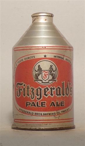 Fitzgeralds Pale Ale Crowntainer, Troy, NY
