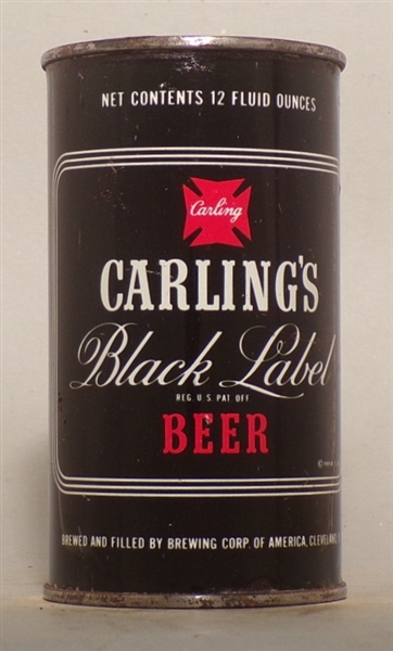 Carling's Black Label Flat Top, Cleveland, OH