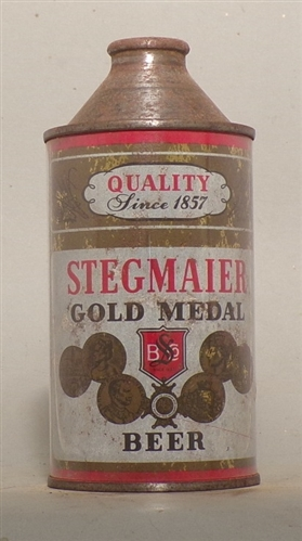 Stegmaier Gold Medal Cone Top, Wilkes Barre, PA
