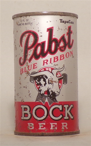 Pabst Blue Ribbon Bock OI Flat Top, Milwaukee, WI