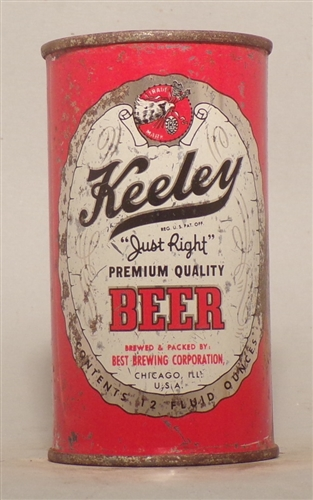 Keeley Beer Flat Top, Chicago, IL