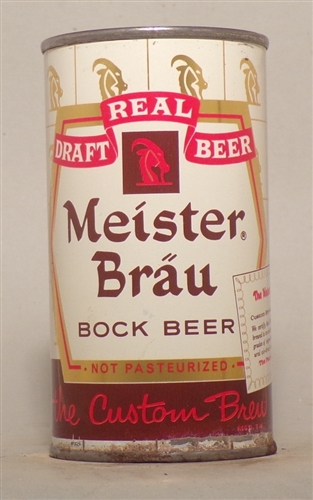 Meister Brau Bock Flat Top, Chicago, IL