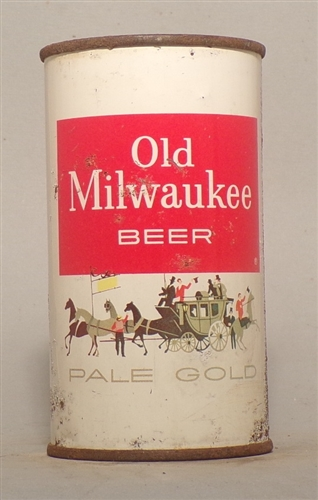 Old Milwaukee Pale Gold Flat Top, Milwaukee, WI