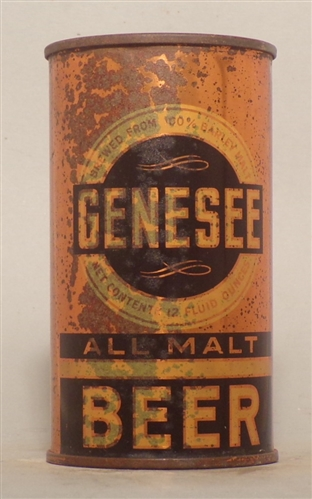 Genesee All Malt OI Flat Top, Rochester, NY