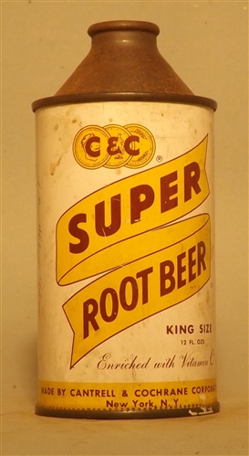 C&C Super Root Beer Cone Top, New York, NY