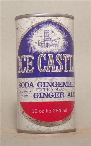 Ice Castle Ginger Ale Flat Top 10 oz, Canada