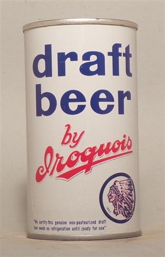 Iroquois Draft Flat Top, Rochester, NY