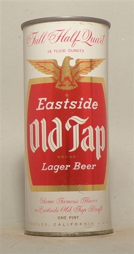 Eastside Old Tap 16 Ounce Flat Top, Los Angeles, CA