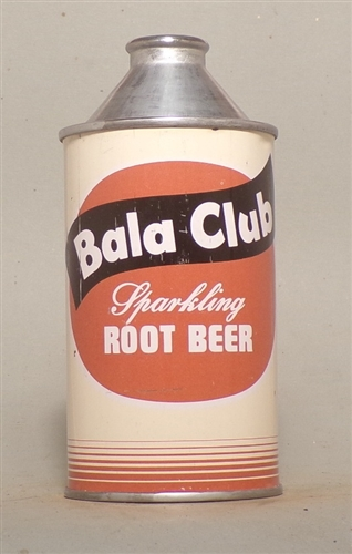 Bala Club Root Beer Cone Top