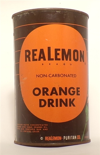ReaLemon Orange Drink Can