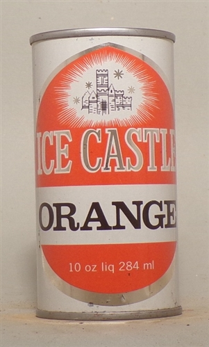 Ice Castle Orange Flat Top, 10 Ounce, Canada