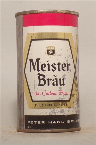 Meister Brau Flat Top,The Custom Brew, Chicago, IL